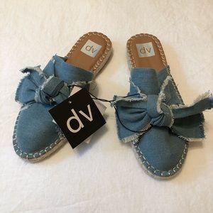 Dolce Vita denim blue flats